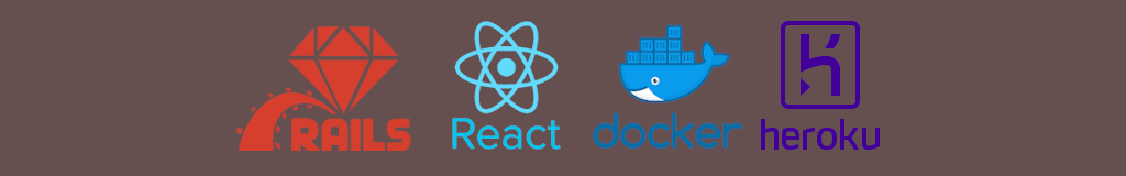 Full-stack introduction using Rails, React, Docker and Heroku